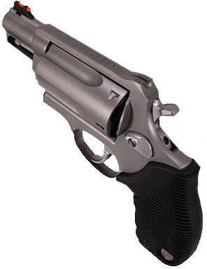 "Taurus Judge Public Defender 410 Gauge / 45 Long Colt Compact Stainless Steel 2.5"" Barrel Revolver 2441039TC"