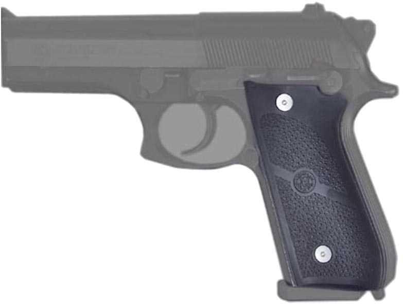 Hogue Grips Rubber Grip Taurus PT99 No Finger Grooves Black 99010