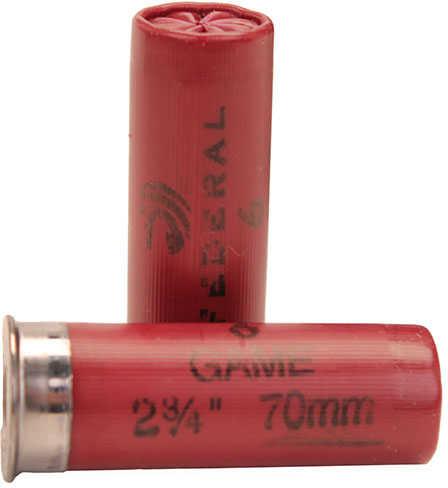 "Federal Cartridge 12 Gauge Shot shells 2 3/4"" 3 1/4 dram 1oz 6 Shot (Per 25) H1216"