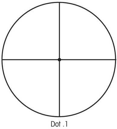 Sightron SIII 10-50x60mm Long Range Scope Target Dot Reticle 25138