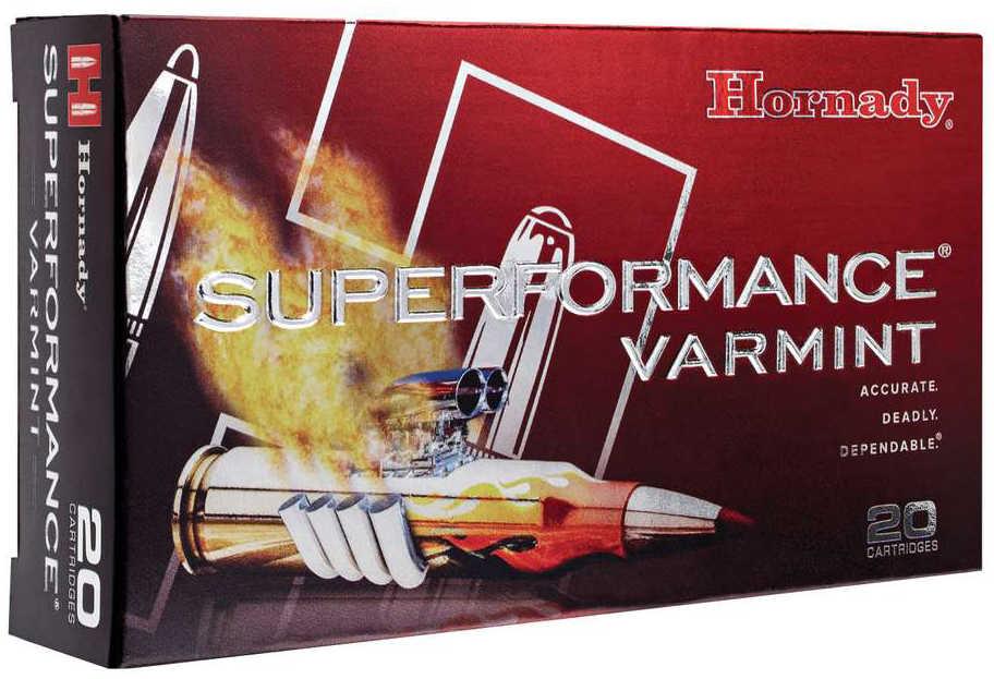 Hornady Superformance Varmint 204 Ruger 24 Grain NTX Lead Free 20 Round Box 83209