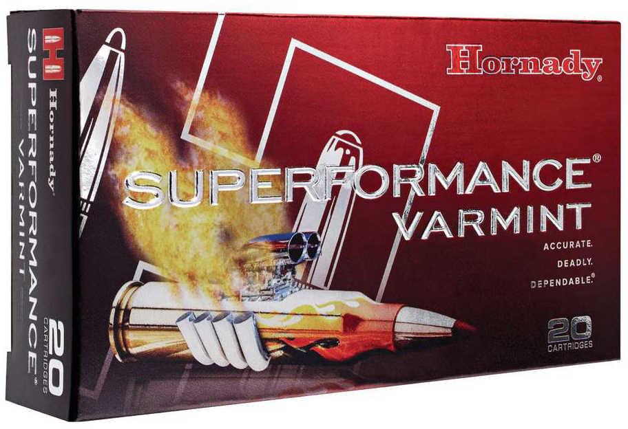 Hornady 22-250 Remington Ammunition 50 Grains V-Max Superformance