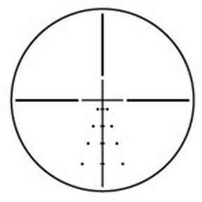 Burris Fullfield E1 Rifle Scope 3-9X40mm Ballistic Plex E1 Reticle Matte Finish 200320