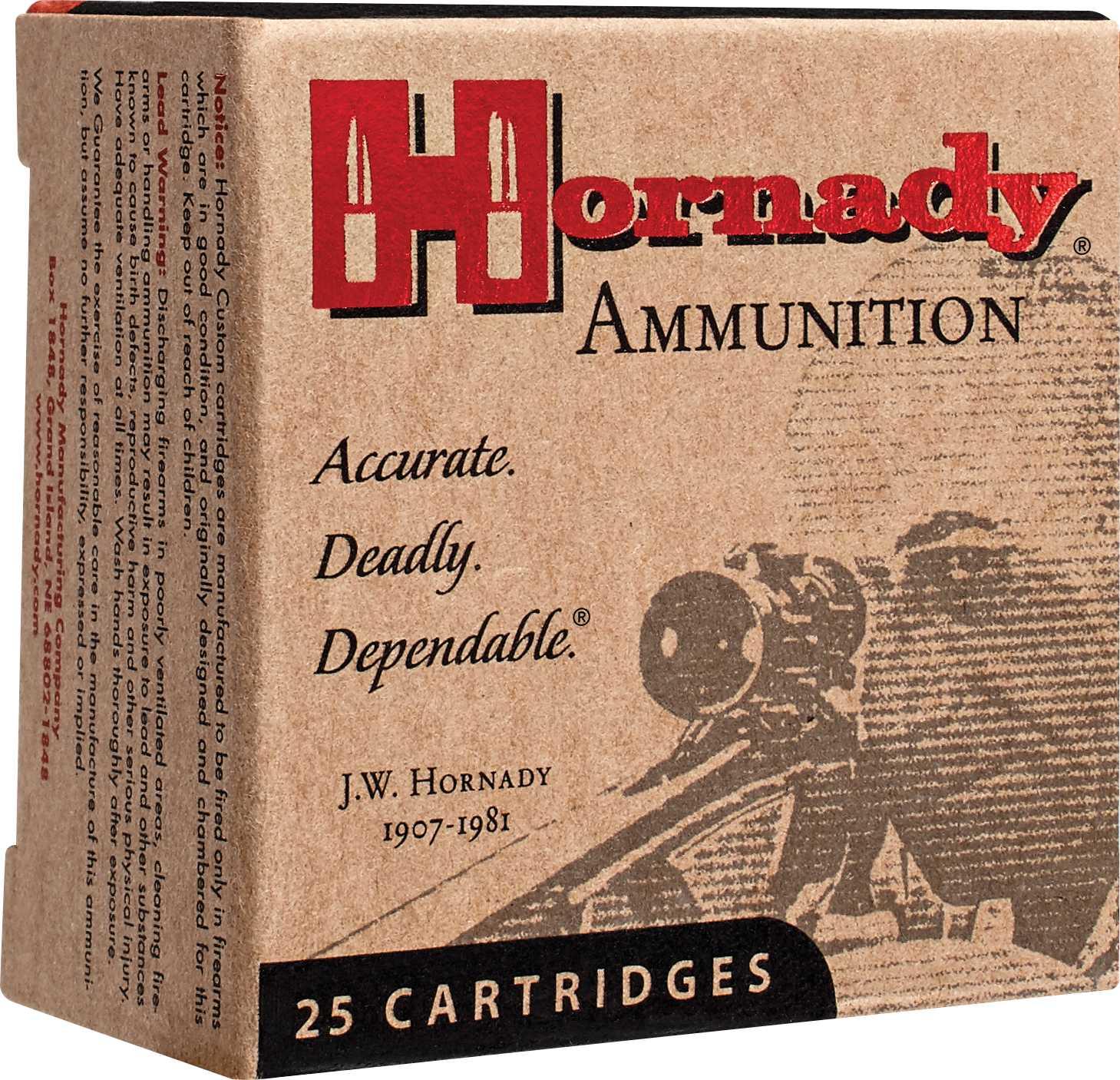 Hornady Self Defense 357MAG 158 Grain XTP 25 Round Box 90562