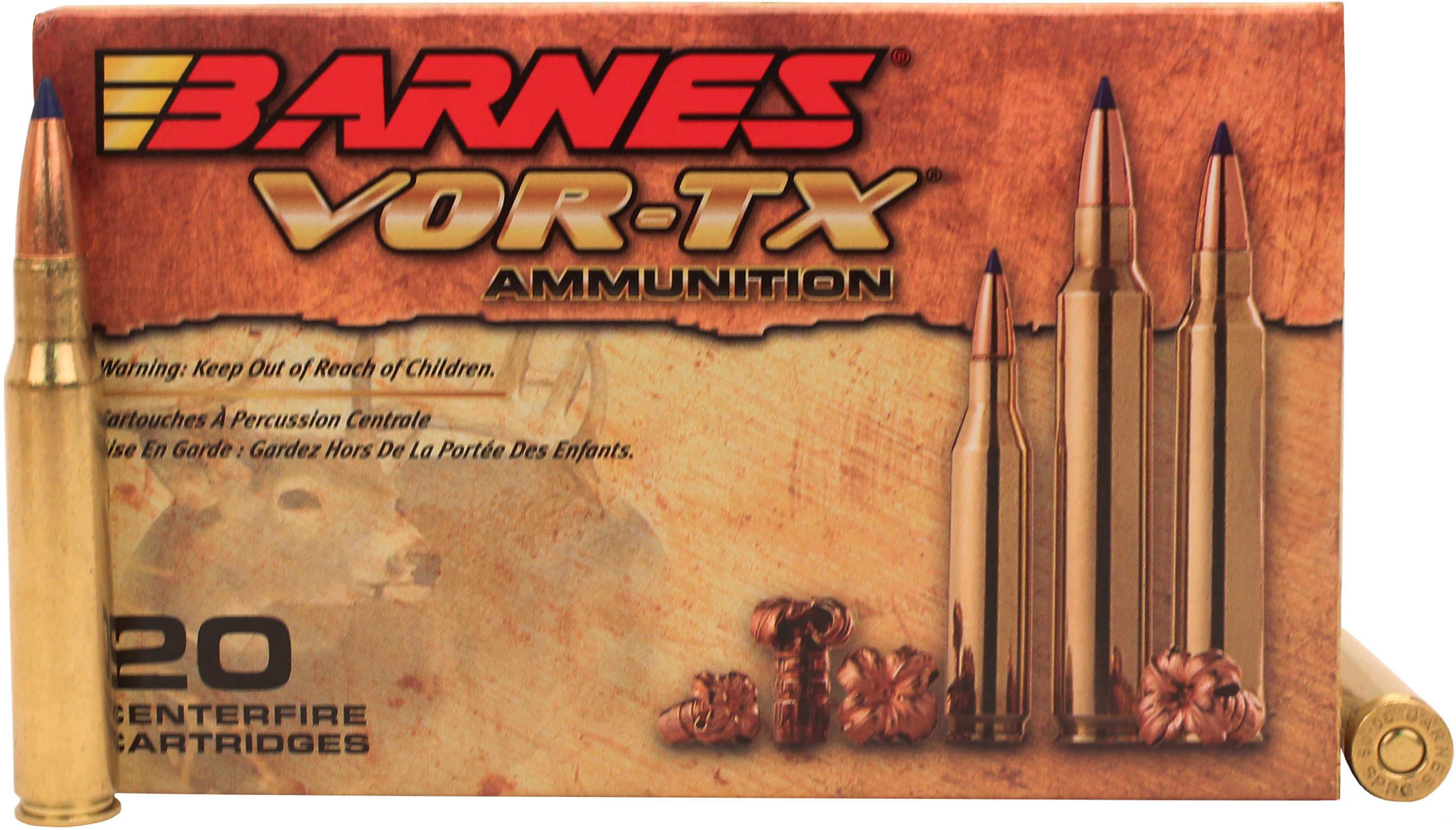 Barnes Bullets VOR-TX 30-06 Springfield Per 20 TTSX-BT 168 ...