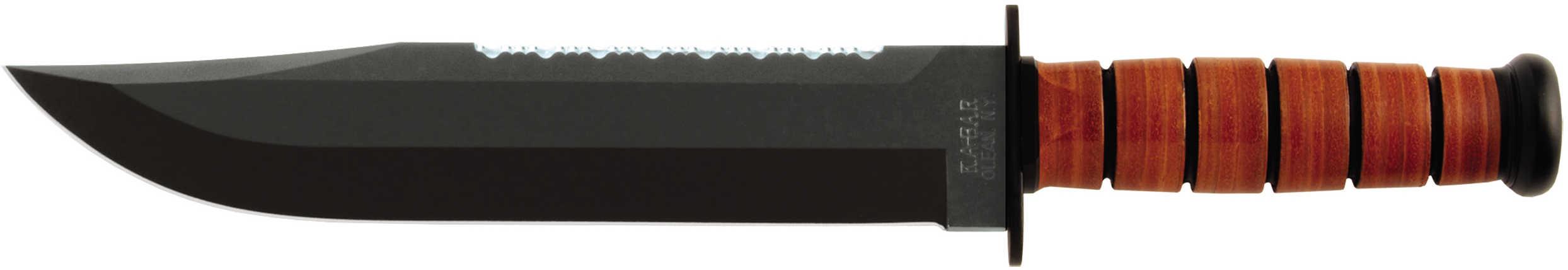 Ka-Bar Leather Handled Big Brother 2-2217-7