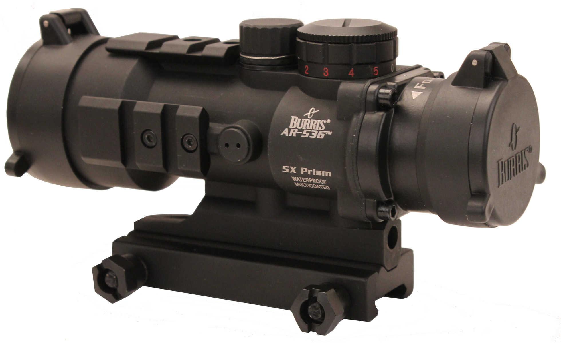 Burris Prism Sight 5x 36mm Obj Eye Relief 4 MOA Dot Matte Black 300210