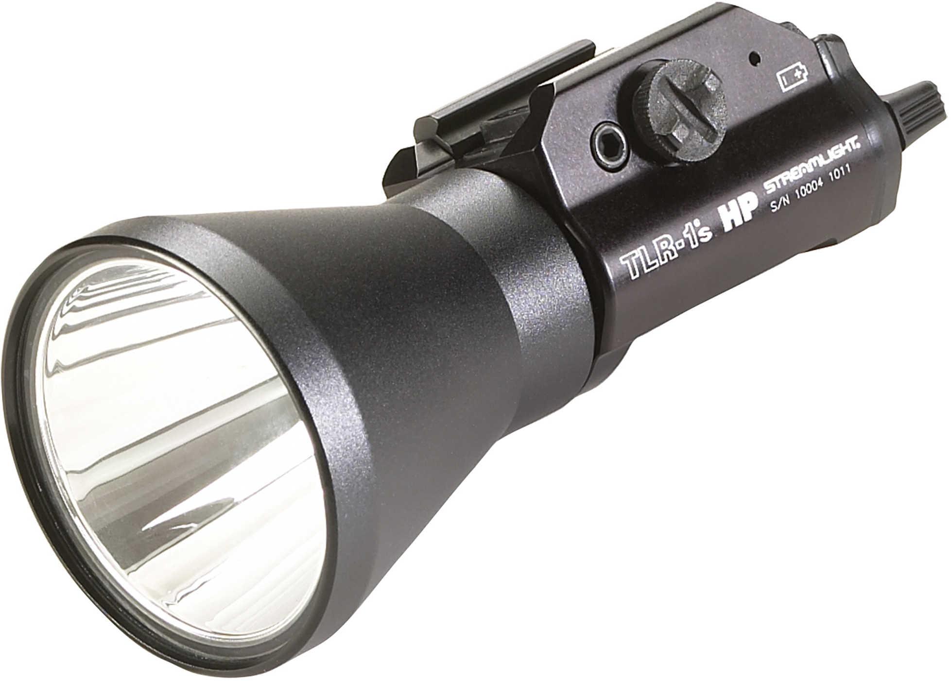 Streamlight TLR-1 HPL Tactical Light Fits Long Gun w/1913 Rails C4 LED 790 Lumens Black Finish with Batteries 69215