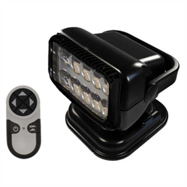 GoLight Portable Radioray w/Magnetic Shoe LED,Black 79514