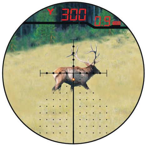 Burris Eliminator III Laser Scope 4-16X50mm Eliminator X96 Reticle Matte Finish 200116