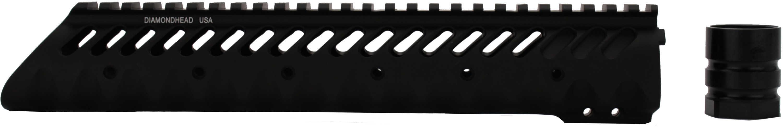 "Diamondhead USA, Inc. VRS-T Free-Floating Handguard Rail Black Free Floating AR-15 10.25"" 2211"