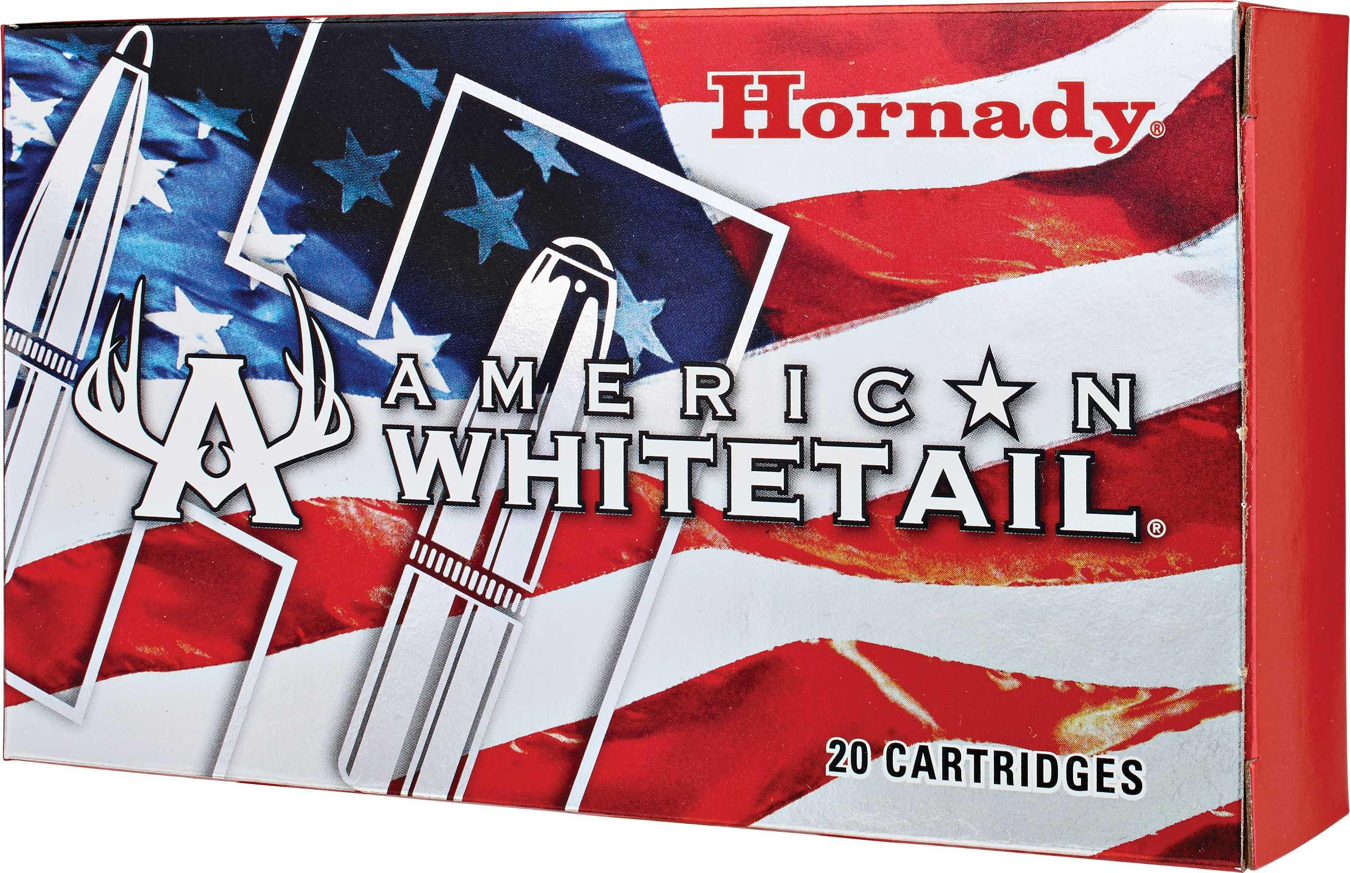 Hornady American Whitetail 7MM-08 Remington Ammunition 139 Grains SP (Per 20) 8057