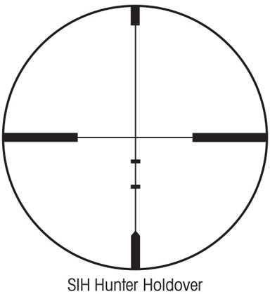 Sightron SIH SI Series Riflescope 3-9x40 HHR 31004