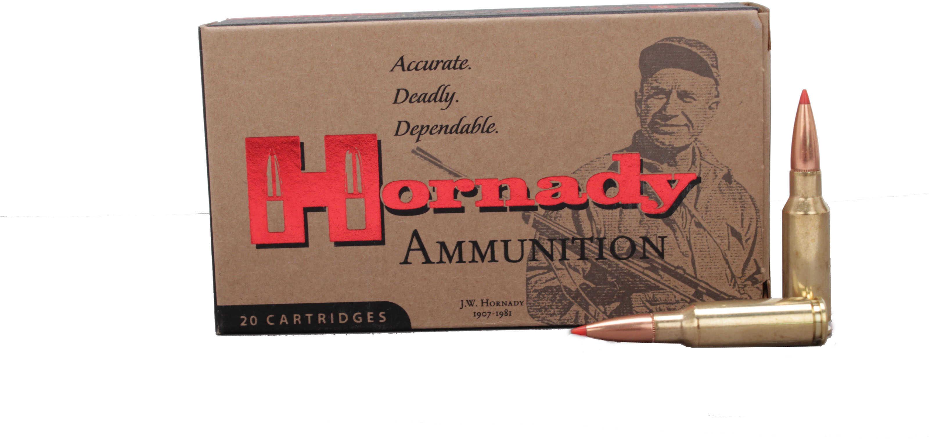 Hornady Custom Ammunition 6.5 GRENDEL 123 Grain SST 20 Round Box 8152
