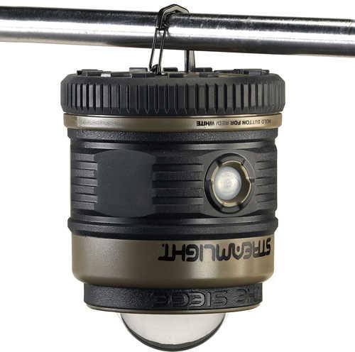Streamlight Siege Lantern 340 Lumen Lantern, Sos, Red Led, 30hr Run Time Coyote Brown 44931