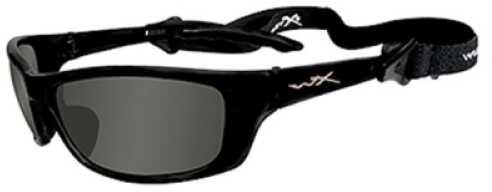 Wiley X Inc. Wiley X Polarized Sunglasses P-17 Smoke Green/Gloss Black Md#: P17