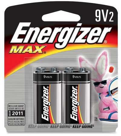 Energizer Premium Max Batteries 9-Volt (Per 2) 522BP-2