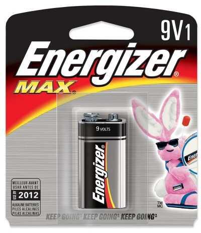 Energizer Max Batteries 9V 1Pk