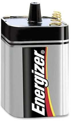 Energizer Max Batteries 6Volt 1/Pk