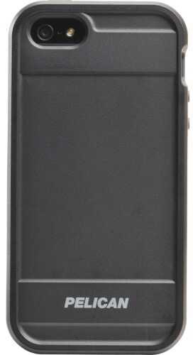 "Pelican Vault Series for iPhone 5 iPhone 5 Case Black Hard Exterior: 2.98"" x 0.53"" x 5.5"" CE-1180-I50A-D1D"
