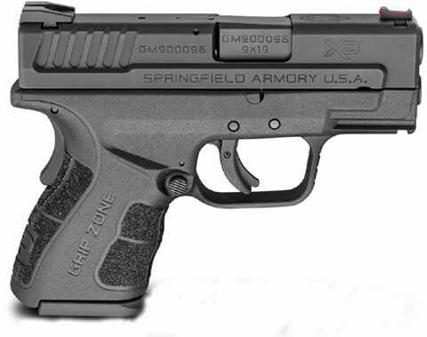 Springfield Armory Mod 2 SC 40 S&W 3'' Barrel Black Frame Semi-Automatic Pistol