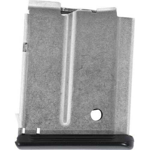 Anschutz Magazine .17HMR 4 Rounds Stainless Steel 012961