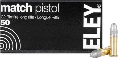 Eley Ammunition ELEY Practice 100 .22LR 40 Grains EPS Bullet 50 Pk