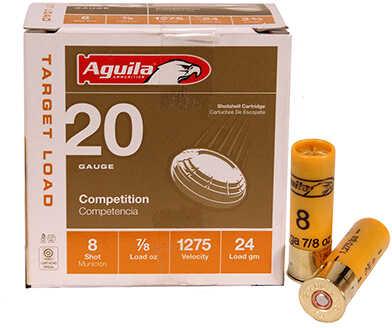 Aguila Shotshell 20 Gauge 7/8Oz #8 25-Pack
