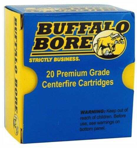 Buffalo Bore Ammunition Handgun 40 S&W JHP 155 Grains 20 Rounds Per Box 23A/20