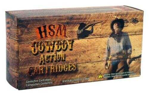 HSM Cowboy Ammunition .38-55 Win. 240 Grain RNFP-Hard 20-Pack