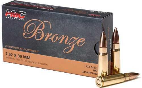 PMC Ammunition 7.62X39 123 Grain FMJ 20-Pack