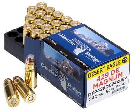 Desert Eagle Ammunition .429De 240 Grain JSP 20-Pack