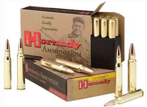 Hornady Ammo 7.5X55 Swiss 165Gr. BTSP 20-Pack