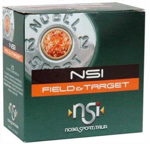 """Nobel Sport Nobelsport Ammunition 16 Gauge 2.75"""" 1330fps. 1-1/16oz. #8 25-pack"""