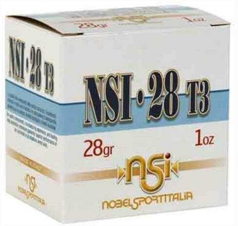 """Nobel Sport Nobelsport Ammunition 28 Gauge 2.75"""" 1205fps. 1oz. #7.5 25-pack"""