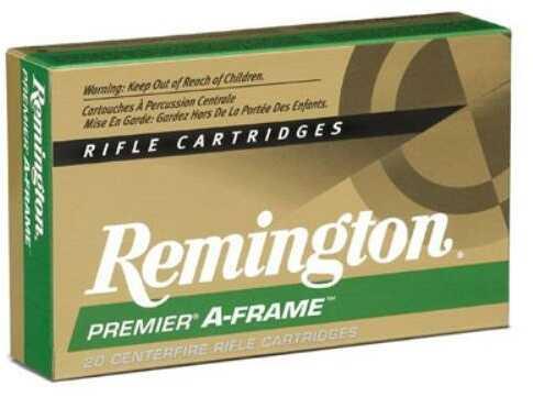 Remington Ammunition .375 Rem Ultra Mag 300 Grains Swift A-Frame 20-Pack !