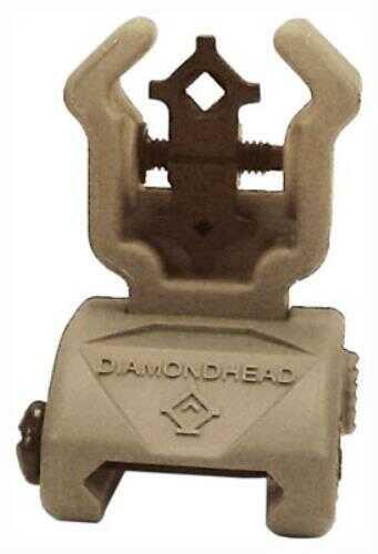 Diamondhead Rear Sight Flip-Up Polymer FDE