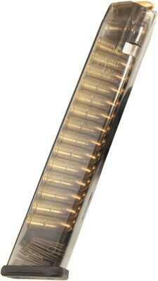 Ets Magazine Glock 18 9mm 31rd Translucent Fits 17 19 26 34 11211123