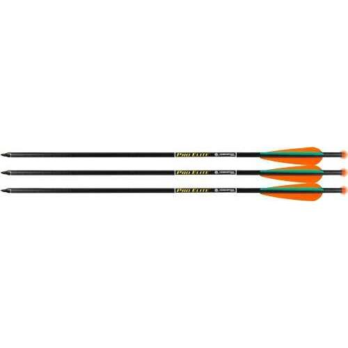 """TenPoint Crossbow Technologies TENPOINT XBOW Arrow 20"""" Pro Elite Carbon Omni-Brite 3Pk"""
