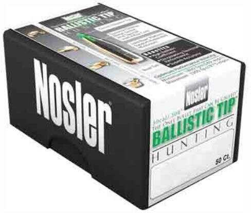Nosler 25 Caliber 115 Gr Spitzer Ballistic Tip (Per 50) 25115