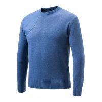 Beretta Special Purchase Men's Classic Round Neck Sweater Small Cotton Blue