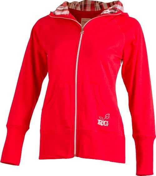 Realtree WOMEN'S Star HOODIE Medium Red With RTG Logo<