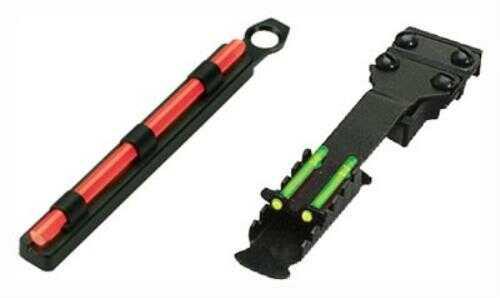"""HiViz Sight Systems HiViz Shotgun Deer/Turkey Set TomBuster 2 Vent RIBS 1/4-3/8"""" Md: TB2004"""