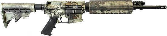 "Adams Arms  Base  Mid  223 Remington /5.56 Nato  16"" Barrel   30 Round   Kryptek Highlander Camo   Semi Auto Rifle   Standard A2 Grip 6 Position Stock FGAA00083"