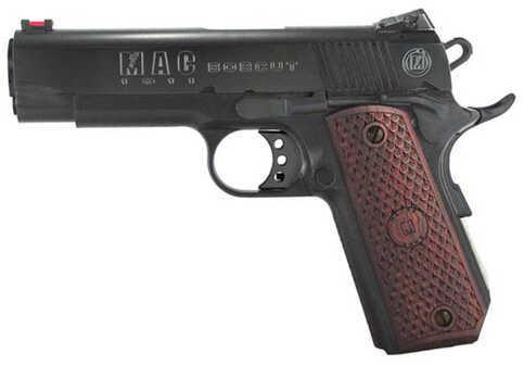 "American Classic MAC 1911 Bobcut 45 ACP 5"" Barrel 8 Round Wood Grips Black Semi Automatic Pistol M19BC45BC"