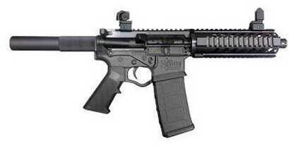 "American Tactical Imports ATI Omni Hybrid Pistol 223 Remington / 5.56mm NATO 7"" Barrel Quad Rail and Flip Iron Sights GOMNIPH7QA5.56 I"