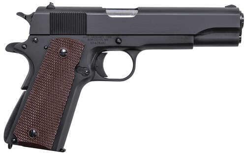 "Auto Ordnance 1911-A1 GI Series 45 ACP 5"" Barrel 7 Round Black Semi Automatic Pistol 1911BKO"