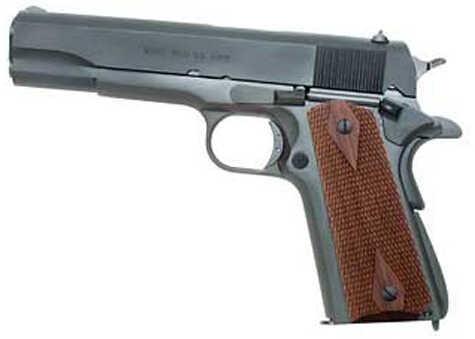 "Auto Ordnance 1911A1 45 ACP 5"" Barrel 7 Round WWII Parkerized MA Legal Semi Automatic Pistol 1911PKZMA"