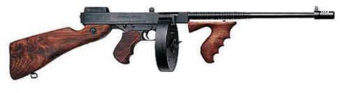 "Auto Ordnance Thompson 1927A-1 45 ACP 16.5"" Barrel 30/100 Round Hard Case Walnut Stock Semi Automatic Rifle ZT1100D"