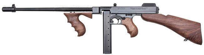 """Auto-Ordnance Thompson 1927A-1 Deluxe Semi-Auto 45 ACP 16.5"""" Barrel With Detachable Stock Semi-Auto Rifle Blemished ZT1B"""